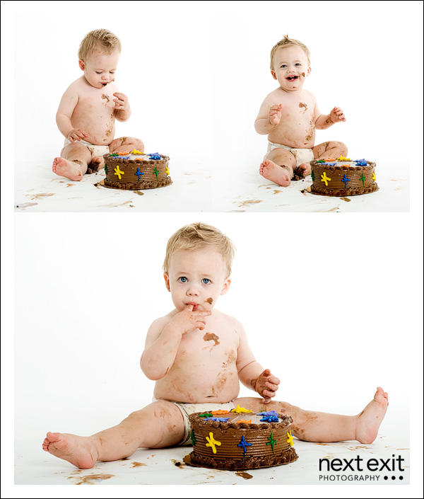 Promo 1st Birthday Cake Smash Next Exit Photography Blog