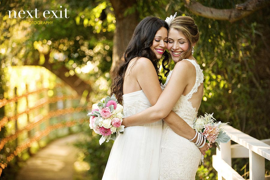 lesbian wedding photography by next exit photography