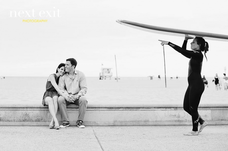 Shutters on the Beach Engagement Session